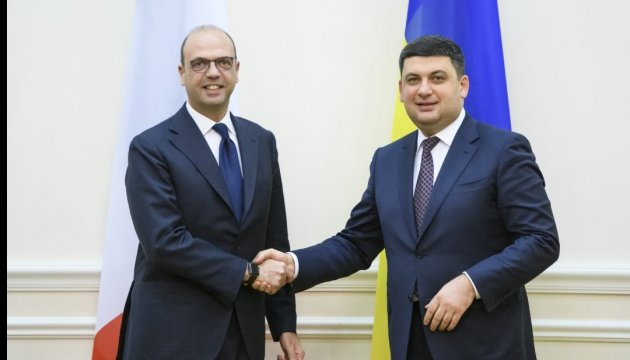 Ukraine ready to deepen ties with Italy in political, economic spheres - Groysman