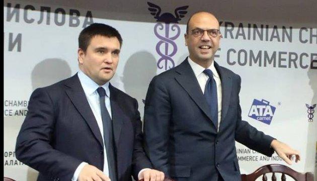 ОБСЕ на Донбассе и освобождение заложников: Климкин провел переговоры с Альфано