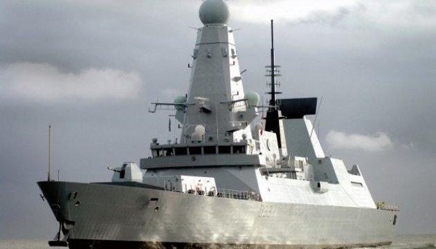 В Черное море вошел британский ракетный эсминец