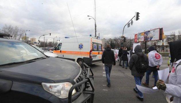 Під Кременчуком люди перекрили трасу на Полтаву: хочуть відновлення газопостачання