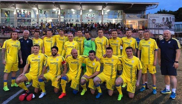 Сборная футбольных ветеранов Украины провела победное турне по Бразилии и Аргентине