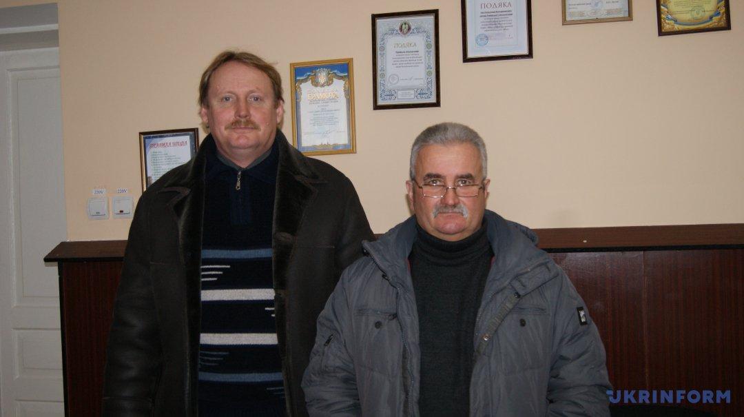 Олександр Чех (справа), Іван Міщенко (зліва)