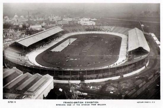 Лондон 1908 року. Олімпійський стадіон