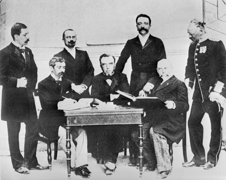 Перші члени МОК