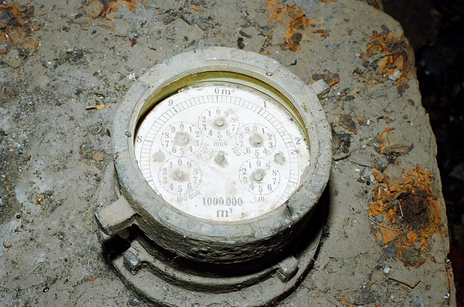 Перший водомір, який міряв воду відрами