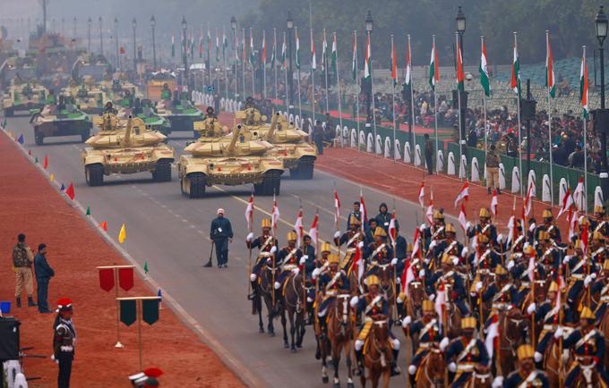 Військовий парад в Індії