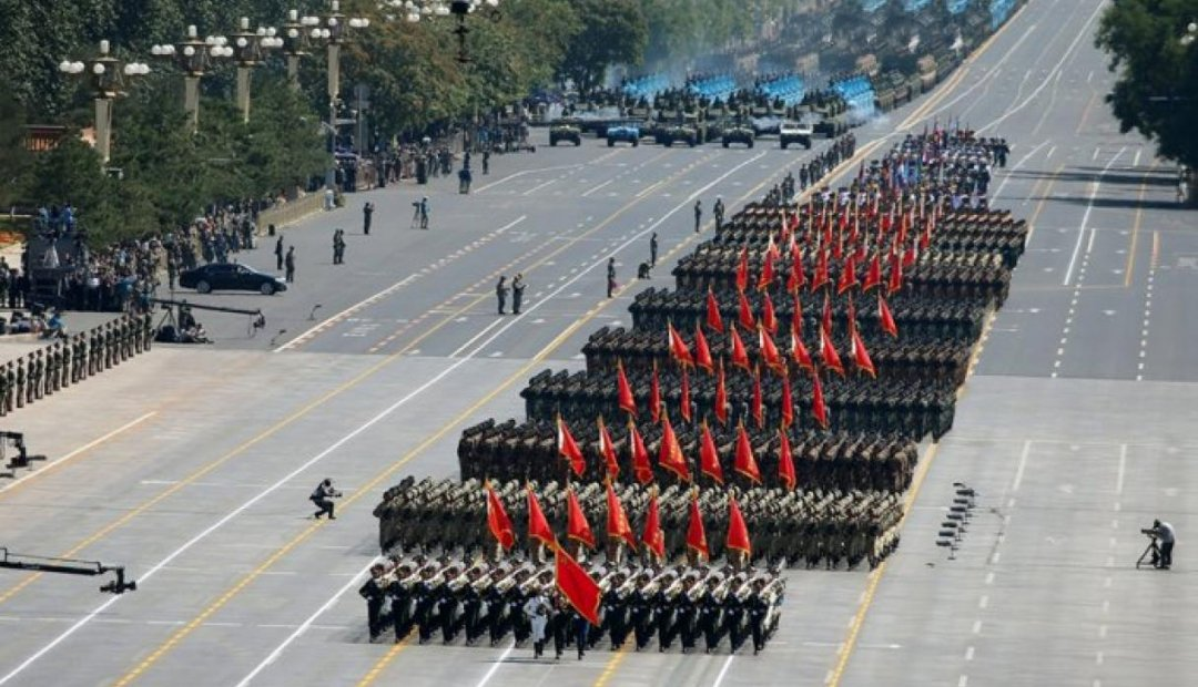 Військовий парад у Китаї