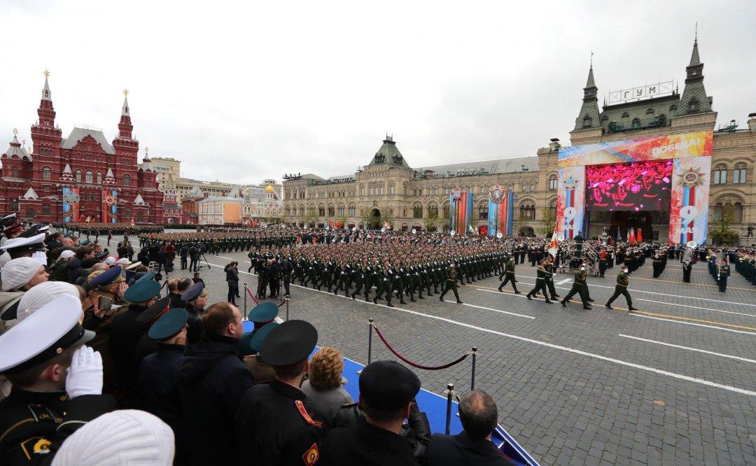 Військовий парад в Росії