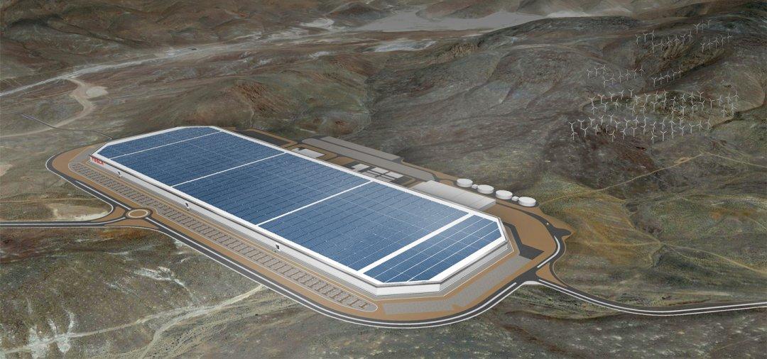 Tesla Gigafactory / Фото: Tesla