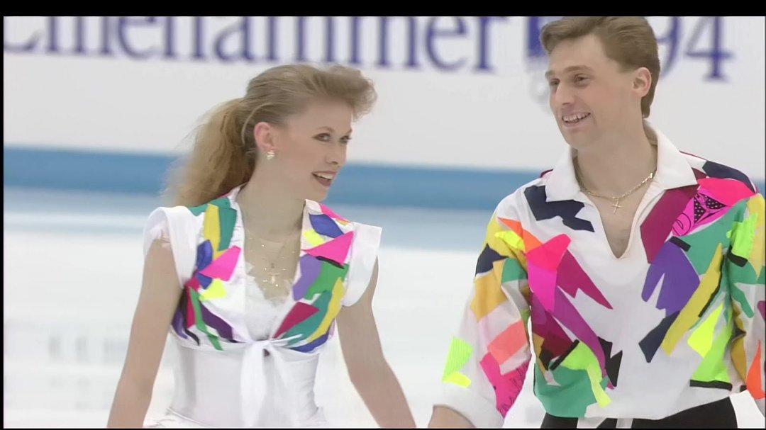 Оксана Баюл і Віктор Петренко