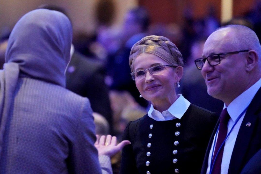 Юлія Тимошенко на молитовному сніданку в США // Фото: REUTERS