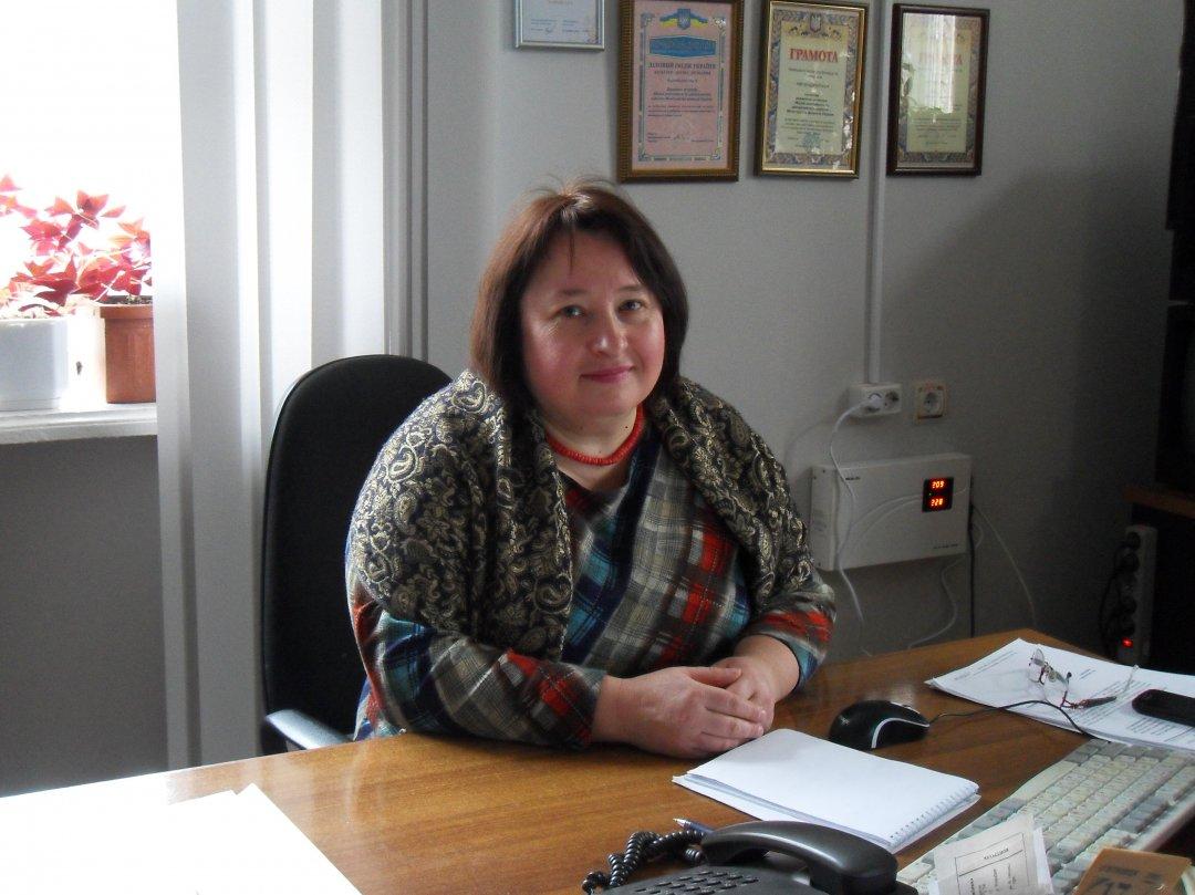 Директор музею Віталія Яковлєва