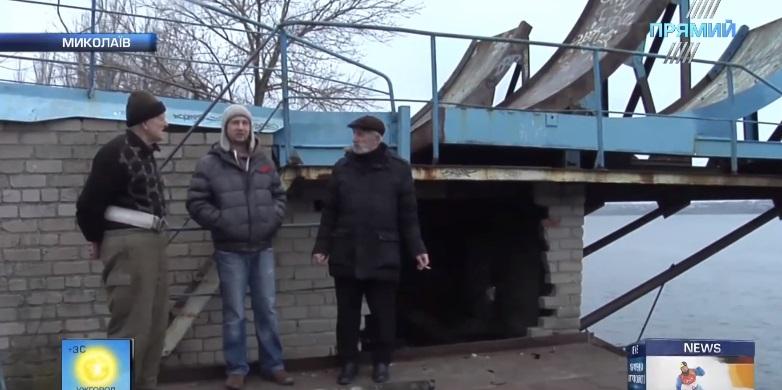 Миколаївський трамплін після рейдерської атаки