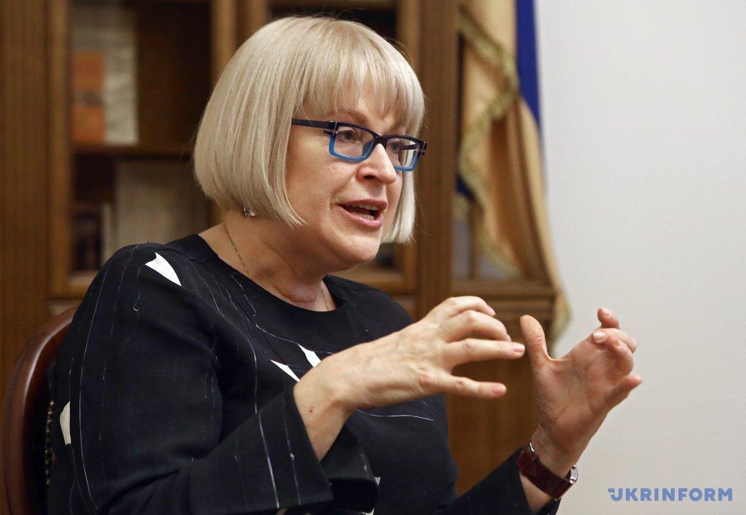 Катерина Амосова, ректор НМУ Богомольця