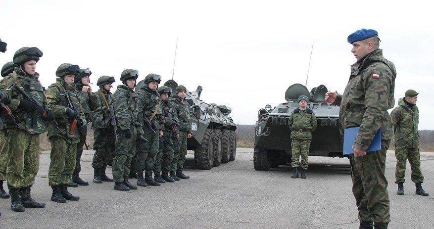 Білоруські миротворці // Фото: Білоруська військова газета
