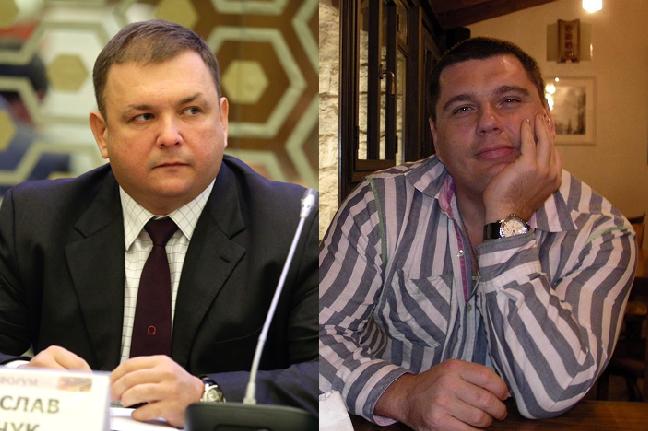 Станіслав (ліворуч) і Денис Шевчуки // Фото: Главком