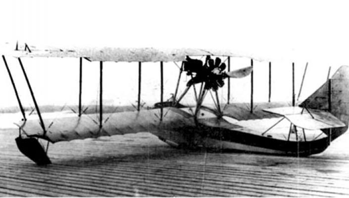 Один з перших літаків Григоровича