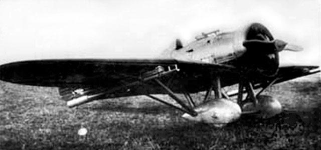Один з останніх літаків його конструкції