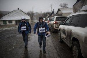 Оккупанты не пускают ОБСЕ на участки, прилегающие к границе с РФ