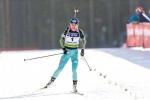 Dzhyma gana la plata en la carrera individual de la Copa del Mundo de Biatlón