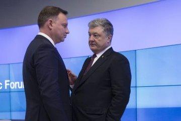 Poroschenko und Duda treffen sich in Brüssel