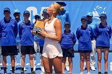 Marta Kostyuk remporte le tournoi ITF de Burnie