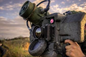 """Schießübung auf Truppenübungsplatz """"Schyrokyj Lan"""": Javelin-Waffe versagt"""