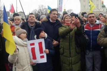 Saakachvili proposera un « gouvernement alternatif » le 18 février prochain