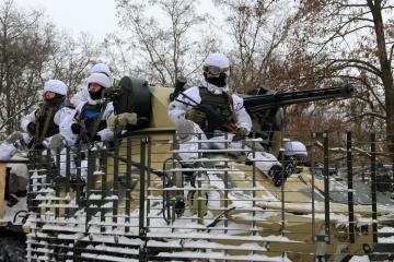 La situation dans le Donbass : 16 attaques, deux soldats ukrainiens blessés