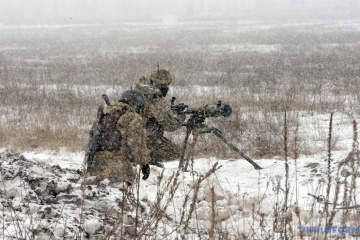 Militants launched 10 attacks on Ukrainian troops in Donbas in last day