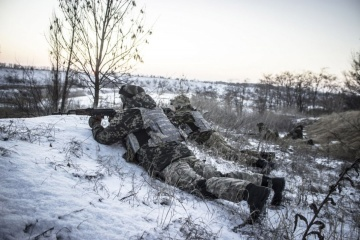 Three Ukrainian soldiers wounded, one injured in Donbas over past day