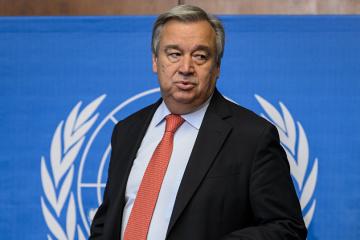 Face à la pandémie de coronavirus,  António Guterres  appelé jeudi à la solidarité et à « affronter ensemble un ennemi commun »