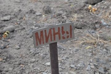 Misja OBWE odkryła pole minowe w pobliżu Pietrowskiego na terytoriach okupowanych