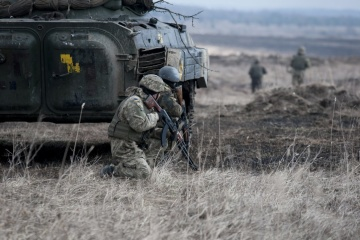La situation dans le Donbass : des armes interdites utilisées, un militaire ukrainien tué