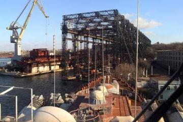 Mykolajiw-Schiffbauwerk zum Verkauf für 1,8 Mrd. UAH ausgestellt