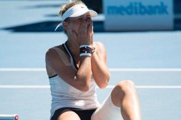 Kostyuk climbs to 77th place in WTA ranking