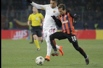 Ligue des Champions: le Shakthar Donetsk s'impose face à la Roma