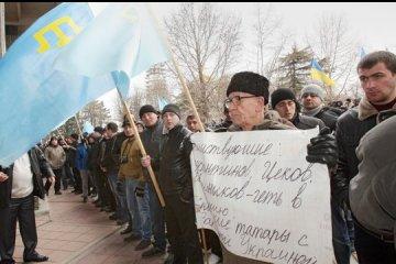 Heute ist Tag des Widerstands der Krim gegen russische Okkupation