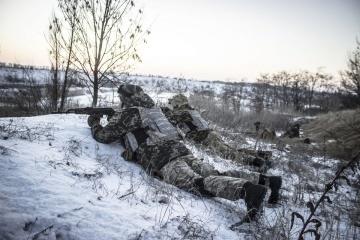 Donbass : un militaire ukrainien blessé