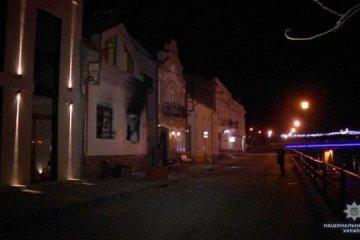 En Úzhgorod queman la Oficina de la comunidad húngara (Fotos)