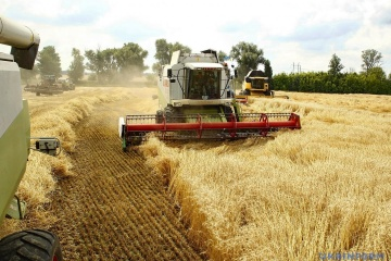 Ukraine harvests 39.4 million tonnes of grain
