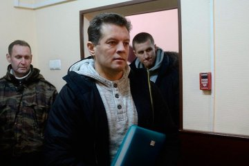 Sushchenko meets with his wife and daughter in Lefortovo – Feygin
