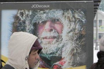 Ucrania queda cubierta de nieve (Reportaje fotográfico)