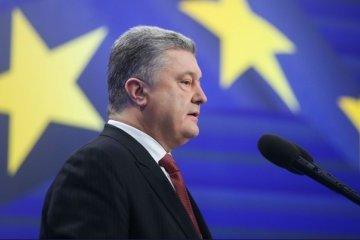 Poroshenko names three priorities in development of trade with EU