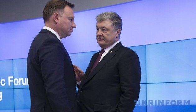 Presidents of Ukraine and Poland to hold talks in Brussels