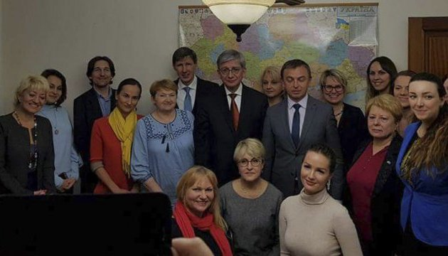 Ukrainian World Congress presidents meets with Ukrainian community in Istanbul