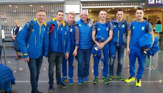 Мужская сборная по биатлону отправилась на Олимпиаду-2018