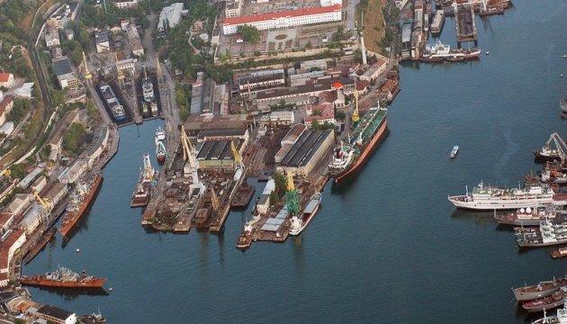 В оккупированном Крыму Россия присвоила Севастопольский морской завод