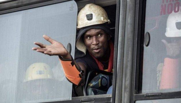 В ЮАР освободили всех 955 шахтеров, которые более суток были заблокированы под землей