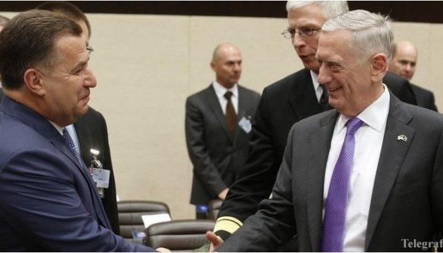 Mattis a cité l'hymne ukrainien lors de sa rencontre avec Stepan Poltorak (photos, vidéo)